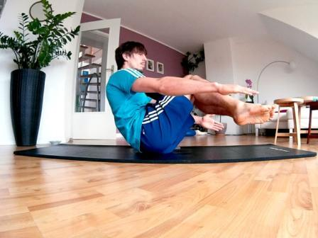Core Training - das Boot Startposition