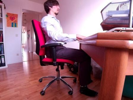 Fit im Büro
