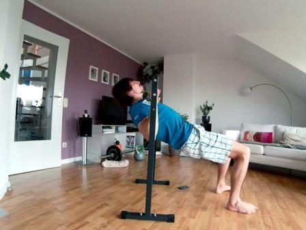 Obere Rückenmuskulatur trainieren - Roller's Rückenzentrum