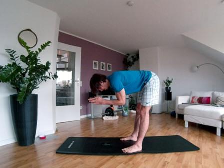 Obere Rückenmuskulatur trainieren