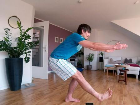 Beine undPo Übungen