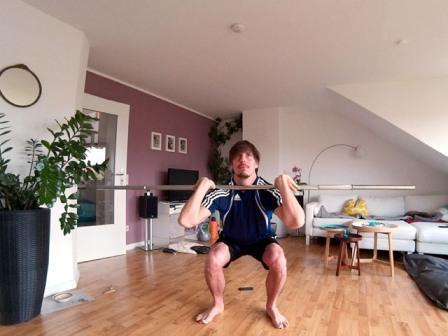 Kniebeugen Varianten