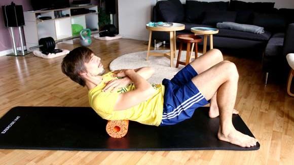 Faszien Workout mit Blackroll und Blackroll Ball