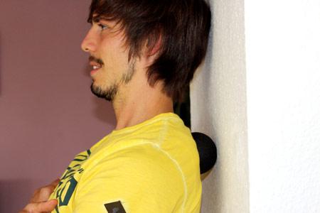 Faszientraining mit Blackroll Ball - Schulterbltter & unterer Nacken massieren