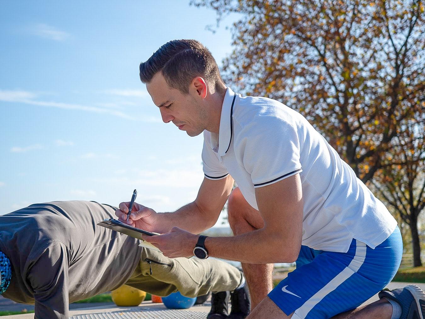 Rückentrainer Christian Roller